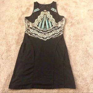 Free People fitted jersey dress